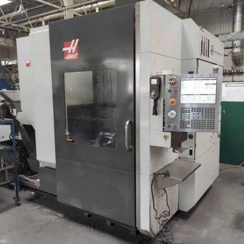 front view of haas umc 750 machine